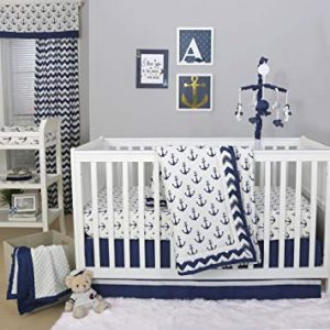 Nautical Cot Bedding