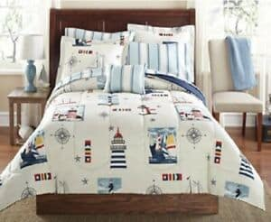 Nautical Full Bedding Set