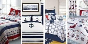 Nautical Inspired Bedding