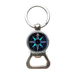 Nautical Keychain Bottle Opener
