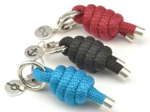 Nautical Knot Keychain