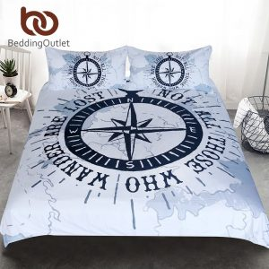 Nautical Map Bedding