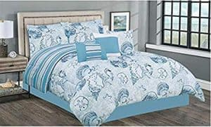 Nautical Queen Bedding Set 7 Piece