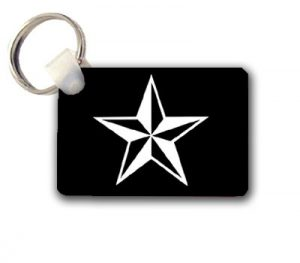 Nautical Star Keychain