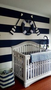 Nautical Themed Baby Bedding