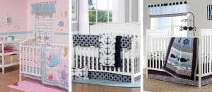 Nautical Themed Crib Bedding