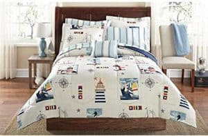 Nautical Twin Bedding Quilt