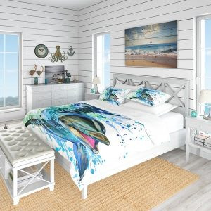Nautical Watercolor Bedding