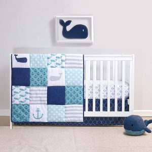 Nautical Whale Baby Bedding