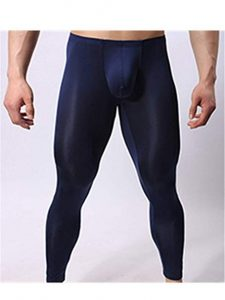 Navy Blue Sheer Thermal Underwear