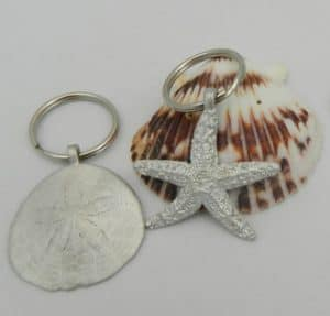 New England Nautical Keychain