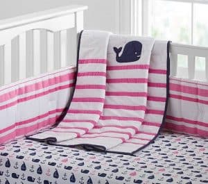 Pottery Barn Kids Baby Girl Nautical Bedding