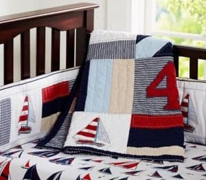 Pottery Barn Nautical Nursery Bedding
