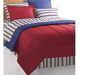 Red And Blue Nautical Bedding