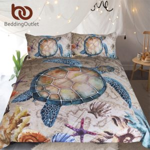 Sea Turtle Nautical Bedding
