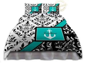 Teal Nautical Bedding