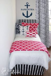 Teenage Girl Nautical Bedding