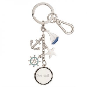 Things Remembered Nautical Keychain