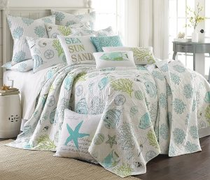 Tropical Nautical Bedding Queen