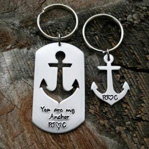 You Are My Anchor Keychain