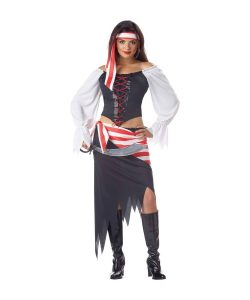 Adult Black Beauty Pirate Costume