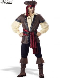 Adult Male Pirate Costume