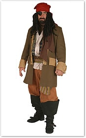 Bluebeard Pirate Costume