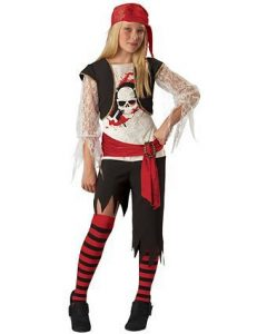 Child High Seas Sassy Pirate Costume