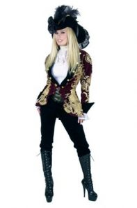 Elegant Pirate Costume