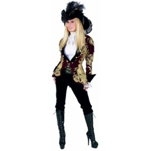 Elegant Pirate Lady Halloween Costume