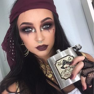 Eye Makeup For Pirate Costume