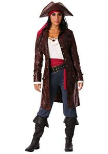 Female Pirate Captain Costume