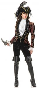 Female Pirate Costume Pants