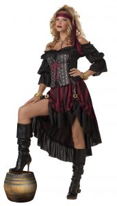 Female Pirate Wench Costume