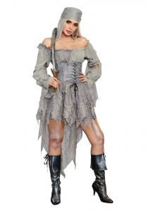 Ghost Pirate Costume Female