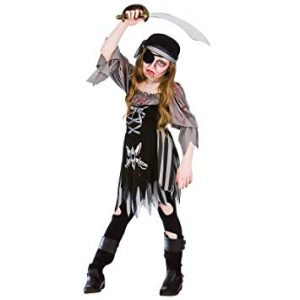 Ghost Pirate Girl Costume