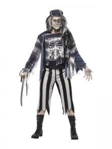 Ghost Pirate Halloween Costume
