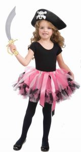 Girl Pirate Costume Tutu