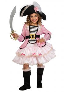 Girl Pirate Princess Costume