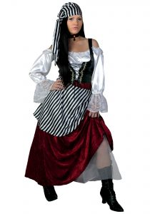 Girl Pirate Wench Costume