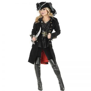 Gothic Pirate Costume