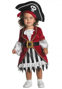 Infant Girl Pirate Costume