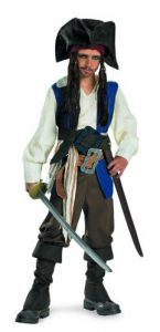 Jack Sparrow Pirate Costume Child