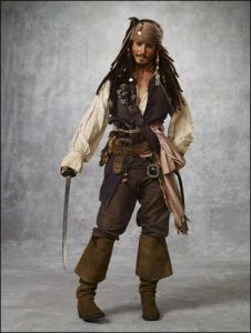 Johnny Depp Pirate Costume