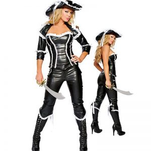 Leather Pirate Costume