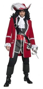Male Pirate Captain Costume