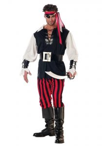 Male Pirate Halloween Costume