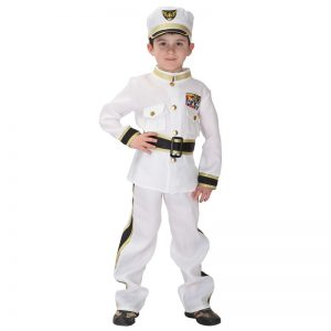 Marine Boy Costume