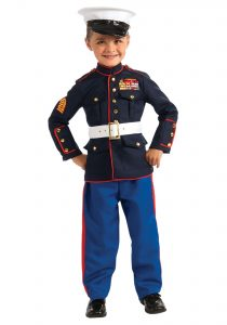 Marine Costume Child