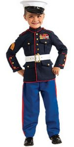 Marine Dress Blue Costume Child